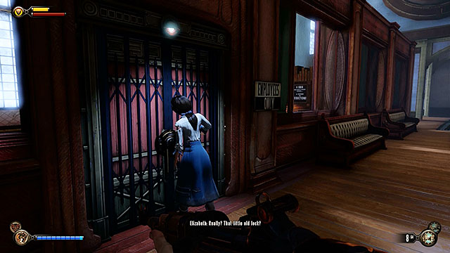 Enter the main hall of the Worker Induction Center and proceed to the left side of the room - Safes and locked doors (chapters 8-28) - Lockpicks - BioShock: Infinite - Game Guide and Walkthrough