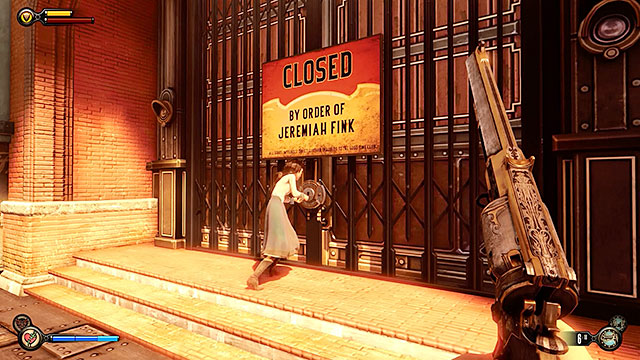There is a watchmakers store to the right of the job fair - Safes and locked doors (chapters 8-28) - Lockpicks - BioShock: Infinite - Game Guide and Walkthrough