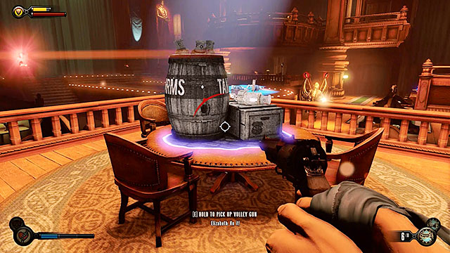 The last surprise Fink has prepared for you are various types of machines - Go to The Good Time Club and rescue Chen Lin - Chapter 18 - The Good Time Club - BioShock: Infinite - Game Guide and Walkthrough