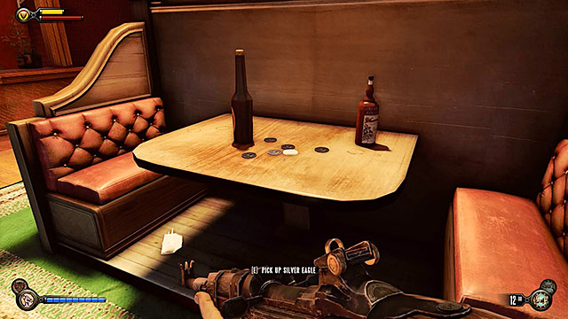 Proceed towards a small bar located to the right (theres a Dollar Bill vending machine near the door leading to it) - Go to The Good Time Club and rescue Chen Lin - Chapter 18 - The Good Time Club - BioShock: Infinite - Game Guide and Walkthrough