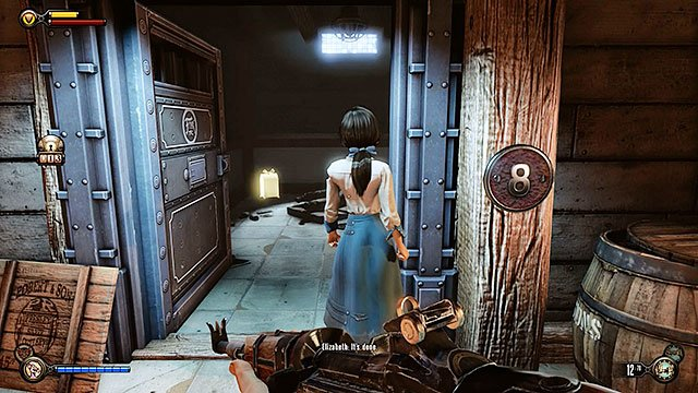 The Good Time Club - cell number 8 located in a prison behind the stage - Chapters 17-18 - Gear - BioShock: Infinite - Game Guide and Walkthrough