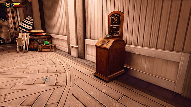 Battleship Bay - in a corridor linking the two beaches - Chapter 7 - Vantage points - BioShock: Infinite - Game Guide and Walkthrough