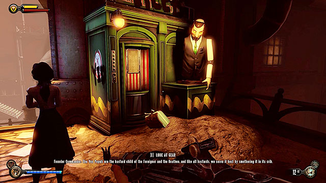 Use the next tunnel - Find Shantytowns police impound - Chapter 21 - Shantytown - BioShock: Infinite - Game Guide and Walkthrough
