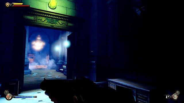 You may now proceed towards a gigantic vault - Find the next tear - Chapter 31 - Memorial Gardens - BioShock: Infinite - Game Guide and Walkthrough