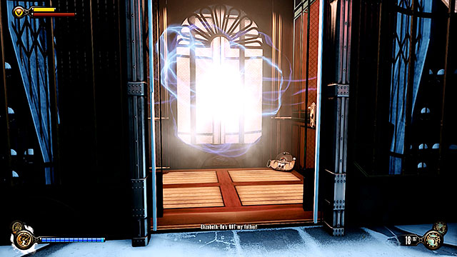 Your current objective will change soon and an elevator will show up near the gate - Go to wardens office - Chapter 32 - Comstock House - BioShock: Infinite - Game Guide and Walkthrough