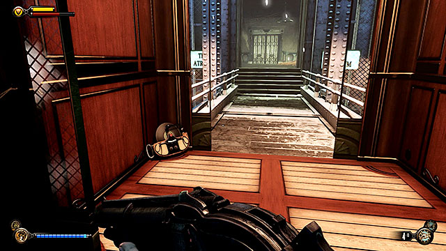 Fight your way to the atrium where youll encounter another group of guards - Rescue Elizabeth - Chapter 34 - Wardens Office - BioShock: Infinite - Game Guide and Walkthrough