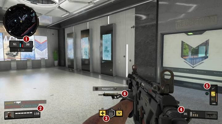 User interface looks simple and consists of following items - Call of Duty Black Ops 4 Guide and Tips