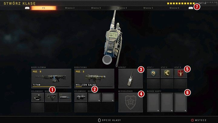 How to change weapon and equipment of your class in Black Ops 4