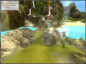 The last quest on this land is unblocking the waterfall - LAND ONE - quests - Black and White 2 - Game Guide and Walkthrough