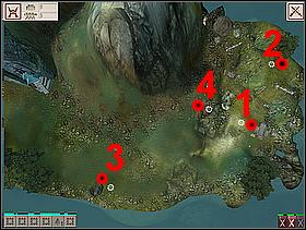 The silver scroll activating this quest is located on a small island - LAND SIX - quests - Black and White 2 - Game Guide and Walkthrough