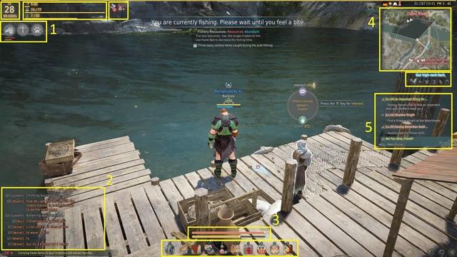 The GUI - The interface - The basics - Black Desert Online - Game Guide and Walkthrough