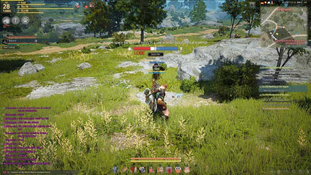 A minigame of taming a horse - Taming of mounts - Mounts - Black Desert Online - Game Guide and Walkthrough