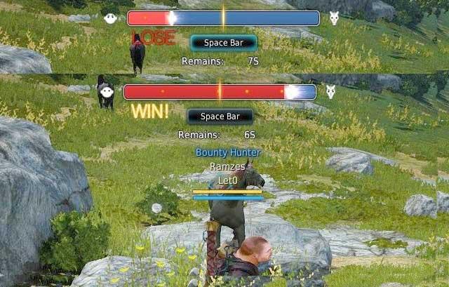 Taming minigame - Taming of mounts - Mounts - Black Desert Online - Game Guide and Walkthrough