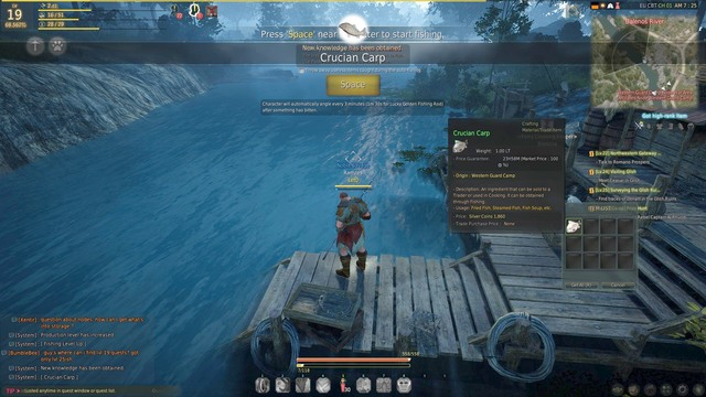 fishing activities black desert online game guide