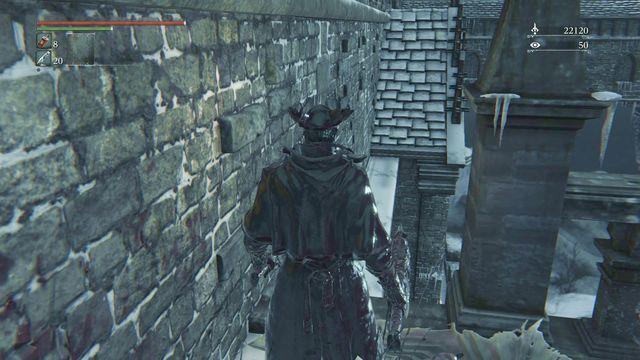 bloodborne how to get to forsaken castle