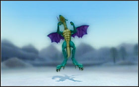 This monster mostly uses ice magic - Dragons - Disc 3 - Side-quests - Blue Dragon - Game Guide and Walkthrough