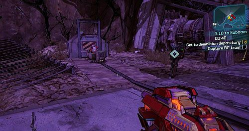 3:10 to Kaboom | Lynchwood side missions in Borderlands 2