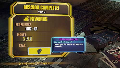 How to open 4th weapon slot borderlands 2