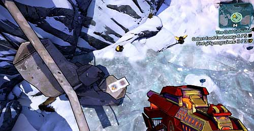 Collecting the last Pizza slice can be a bit tricky - The Cold Shoulder - Sanctuary part 2 - Borderlands 2 - Game Guide and Walkthrough