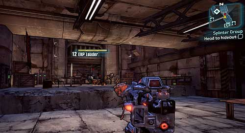 If you're visiting this area after completing A Dam Fine Rescue, there's a chance you will come across a Robot from the above screenshot, which will explode and kill two Bandits - Splinter Group - Sanctuary - Borderlands 2 - Game Guide and Walkthrough