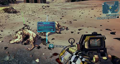 After speaking with Lilith [1] inside Roland's hideout and accepting the mission, head to Three Horns Divide by using Fast Travel - In Memoriam - Sanctuary - Borderlands 2 - Game Guide and Walkthrough