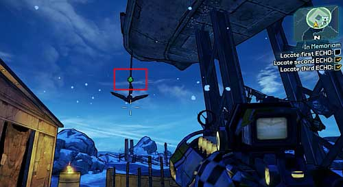 After listening to the message, you will have to find three more recordings - In Memoriam - Sanctuary - Borderlands 2 - Game Guide and Walkthrough