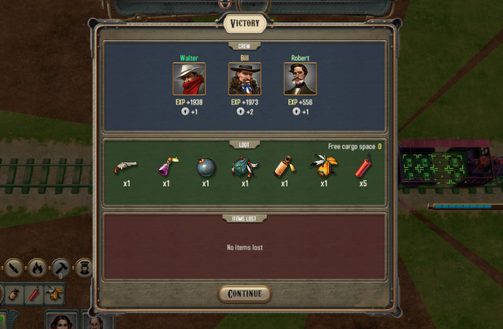 It is worth to attack bandits and take the goods that they had stolen - Earning money from raids | Hints - Hints - Bounty Train Game Guide