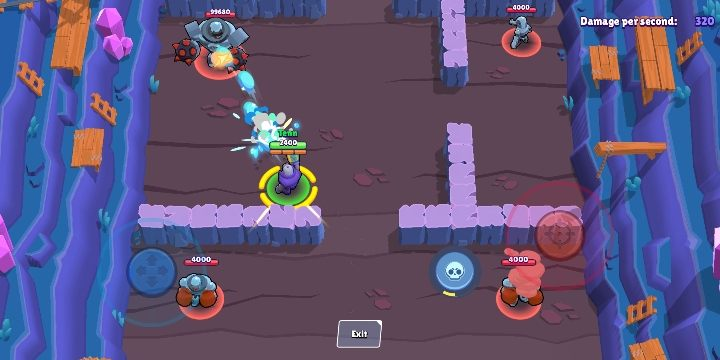 When Rico uses his super, he shoots large and long-range bouncing bullets that can continue to travel after hitting an enemy - Rico | Characters in Brawl Stars - Character list - Brawl Stars Guide