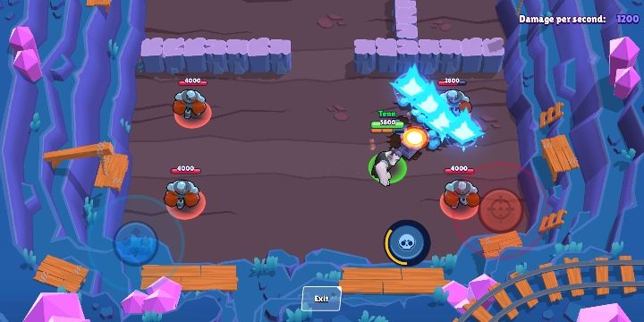 Frank hits the ground with his hammer, creating a shock wave that can attack multiple enemies at once - Frank | Characters in Brawl Stars - Character list - Brawl Stars Guide