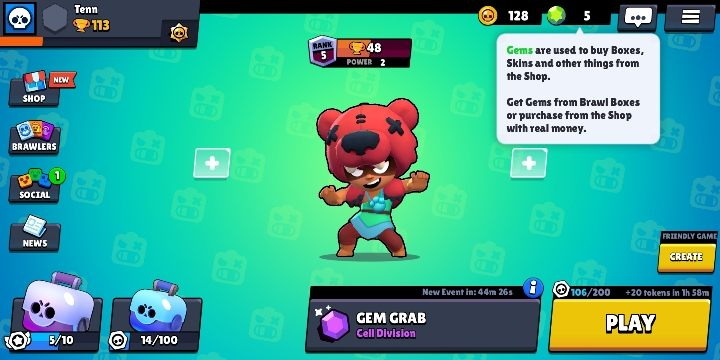 You can get the gems out of the boxes - How to earn gems in Brawl Stars? - FAQ - Brawl Stars Guide