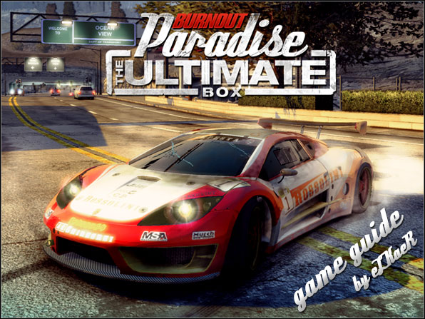 Burnout Paradise the Ultimate Box  1187517421