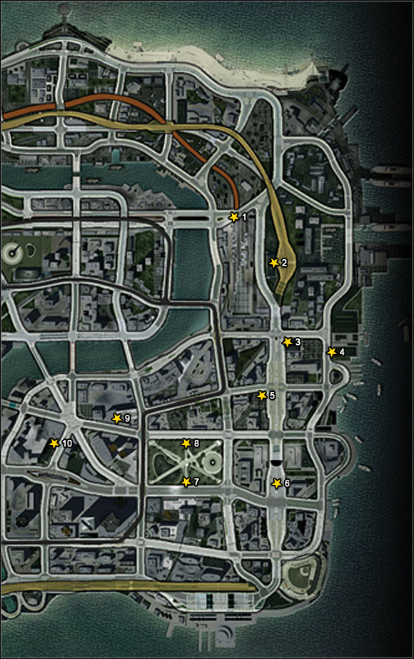 1 - Downtown Paradise - Super jumps - Burnout Paradise: The Ultimate Box - Game Guide and Walkthrough
