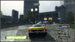 Super jump #7 - Downtown Paradise - Super jumps - Burnout Paradise: The Ultimate Box - Game Guide and Walkthrough