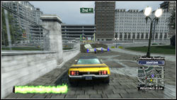 Super jump #8 - Downtown Paradise - Super jumps - Burnout Paradise: The Ultimate Box - Game Guide and Walkthrough