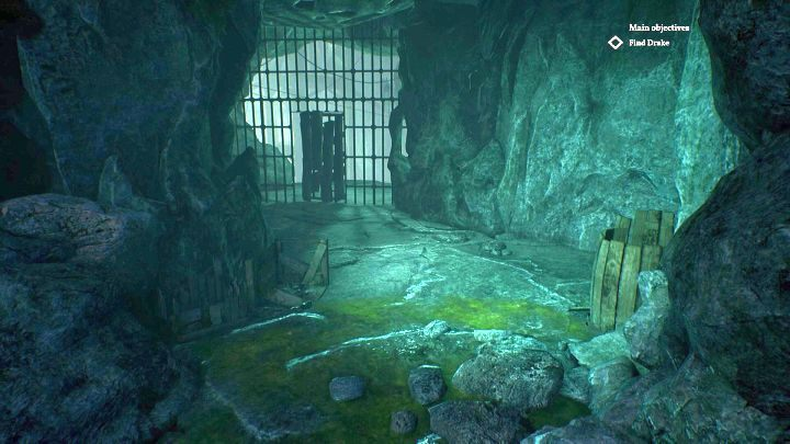 Go through the wooden door - the paths leading up and down are not worth the attention. - Chapter 10 - Darkwater police station | Call of Cthulhu Walkthrough - Walkthrough - Call of Cthulhu Guide