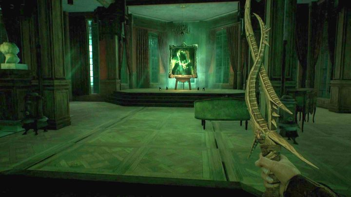 Now, all you need to do to defeat the monster is to destroy the painting. - How to defeat the Shambler in Call of Cthulhu? - FAQ - Call of Cthulhu Guide