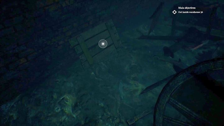 Location of the lever. - How to open the trapdoor in Darkwater of Call of Cthulhu? - FAQ - Call of Cthulhu Guide