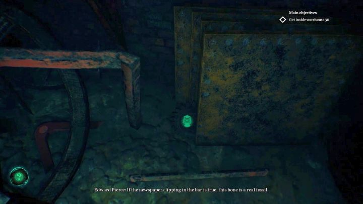 Location of the last item - a Cogwheel. - How to open the trapdoor in Darkwater of Call of Cthulhu? - FAQ - Call of Cthulhu Guide