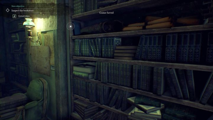 First, of many items, you can find here. - Chapter 7 - Nameless Bookstore | Call of Cthulhu Walkthrough - Walkthrough - Call of Cthulhu Guide