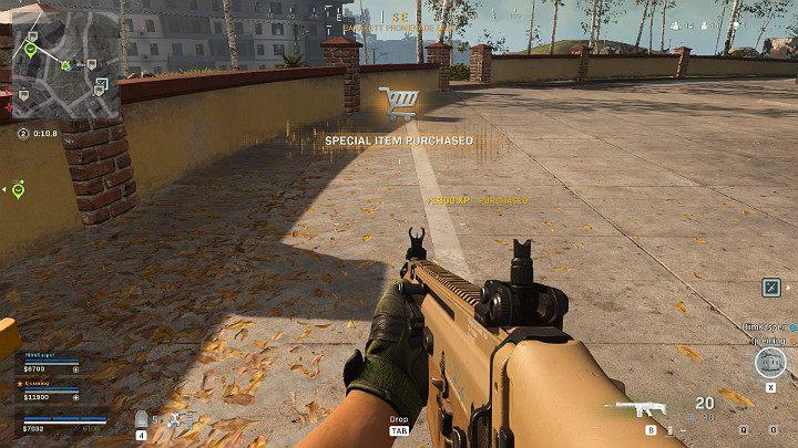 В зависимости от выбранного в магазине варианта игрок может получить определенное количество очков опыта - Warzone: как быстро заработать опыт и повысить уровень? - Основы - Руководство по Warzone