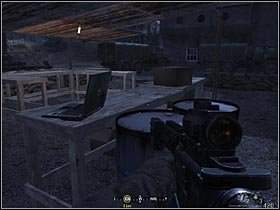 The other one is on a table standing next to a barn, in which there are Stinger missiles - Intel Data - part 1 - Intel Data - Call of Duty 4: Modern Warfare - Game Guide and Walkthrough