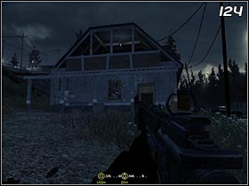 When you deal with the first building you can carry on with the next one - located on the North-west (#124) - Safehouse - Walkthrough - Call of Duty 4: Modern Warfare - Game Guide and Walkthrough
