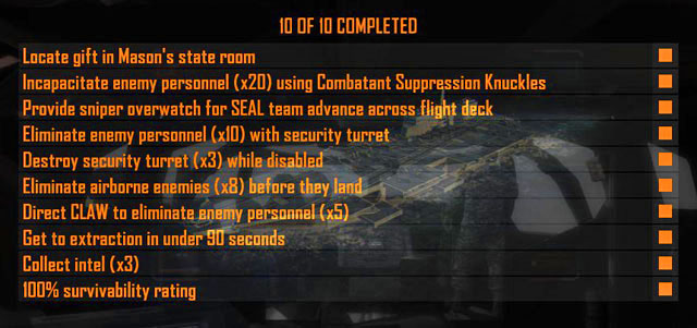 Mission 09: ODYSSEUS   Missions: Challenges - Call of Duty