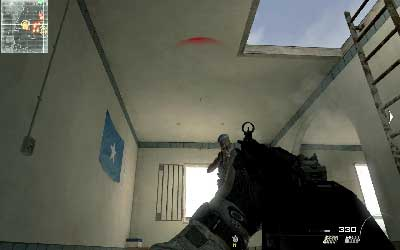 Once you are inside quickly move to the stairs on your right - Hit & Run - SpecOps missions - Call of Duty: Modern Warfare 3 - Game Guide and Walkthrough