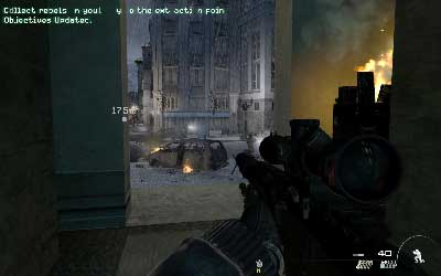 It's a typical sniper mission in which you have to be fast and precise - Resistance Movement - SpecOps missions - Call of Duty: Modern Warfare 3 - Game Guide and Walkthrough