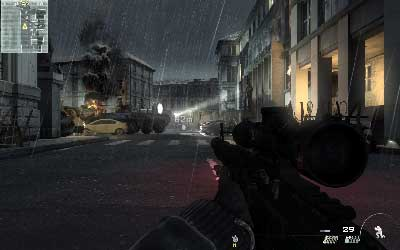 Continue along the street - Resistance Movement - SpecOps missions - Call of Duty: Modern Warfare 3 - Game Guide and Walkthrough