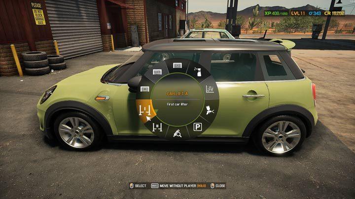 Из доступных вариантов выберите один из подъемников - Car Mechanic Simulator 2021: Замена деталей - Основы - Руководство Car Mechanic Simulator 2021