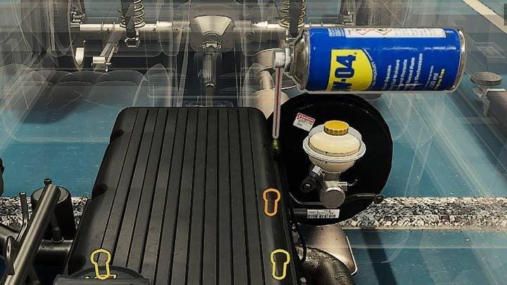 Герметичные винты имеют коричневый контур вокруг них - Car Mechanic Simulator 2021: Замена деталей - Основы - Руководство Car Mechanic Simulator 2021