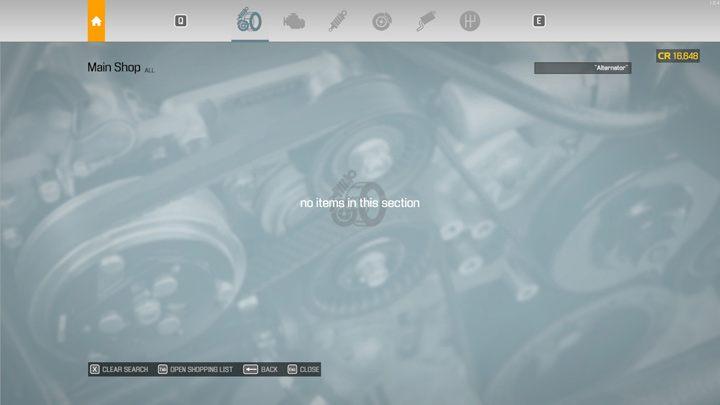 Некоторые предметы можно купить только в специализированных магазинах - Car Mechanic Simulator 2021: Замена деталей - Основы - Руководство Car Mechanic Simulator 2021