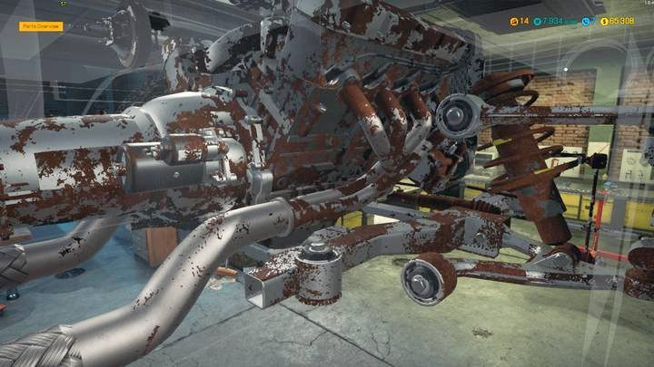 how to change oil in car mechanic simulator 2015